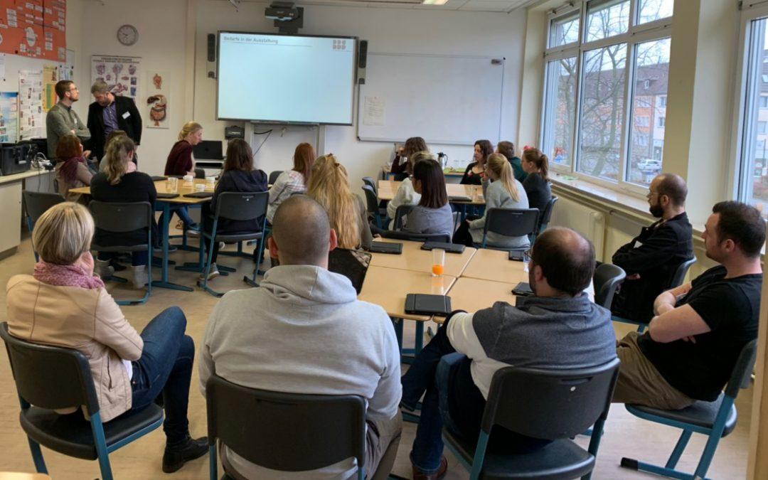 Seminar Hildesheim zu Gast im Beruflichen Gymnasium
